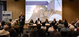 """Human and sustainable development goals"" Public Panel Discussion at ZEF Board Meeting 2013"