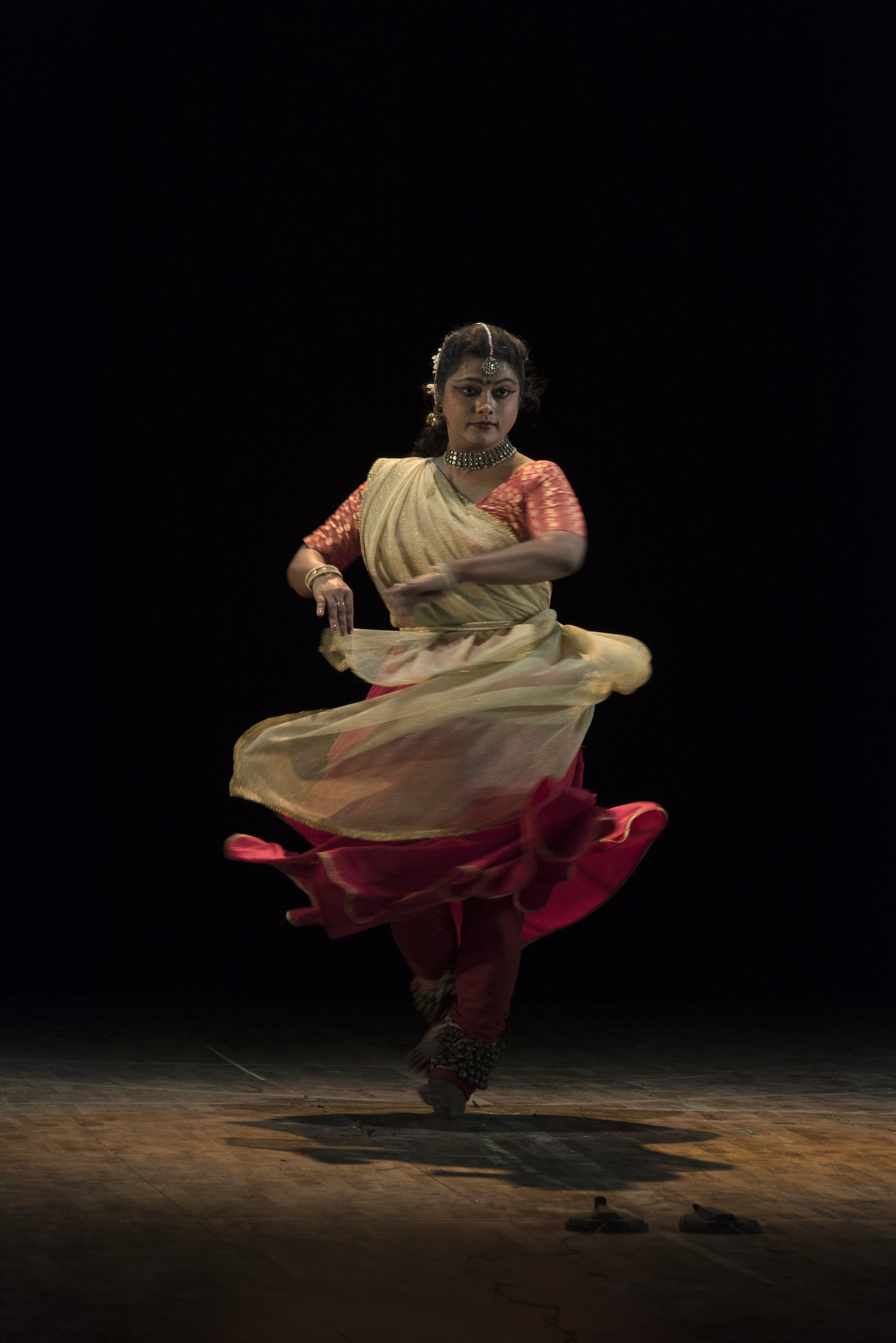 Traditional Dancer in India