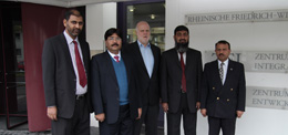 Partners from Pakistan visit ZEF