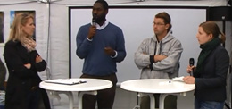 """Water in Africa"" Discussion with Djiby Thiam and Wolfram Laube on German Development Day (DET)"