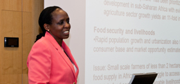 Agnes Kalibata on Africa on the move: Catalyzing and Sustaining an Agricultural Transformation