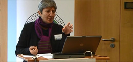 "Sima Samar talks about women's rights in Afghanistan at the RLC workshop ""Mobilization for Change"""